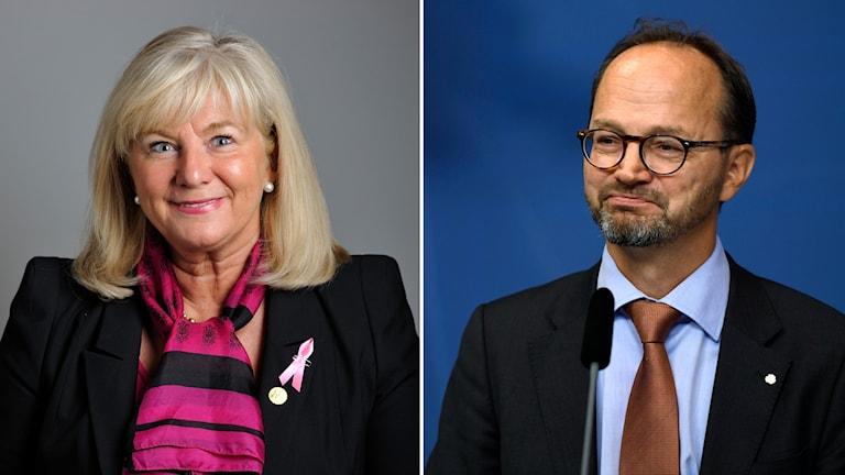 Katarina Brännström och Tomas Eneroth