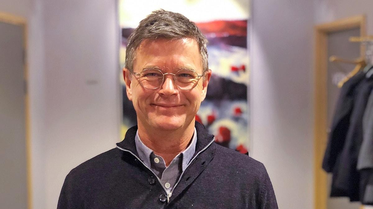 Peter Aronsson, rektor på Linnéuniversitetet