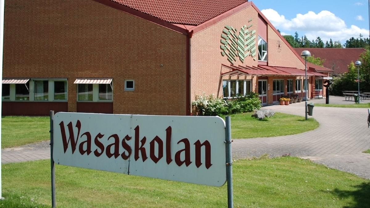 Wasaskolan i Tingsryd. Foto: Rikard Persson/Sveriges Radio.