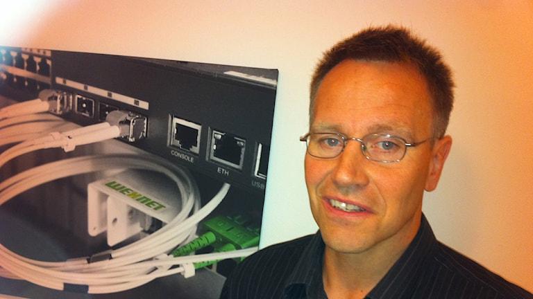 ARKIVFOTO: Per Bengtsson, affärsområdeschef på Wexnet.
