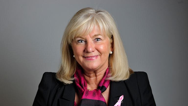 Katarina Brännström, moderat riksdagsledamot från Växjö. Foto: Henrik Montgomery/ Scanpix