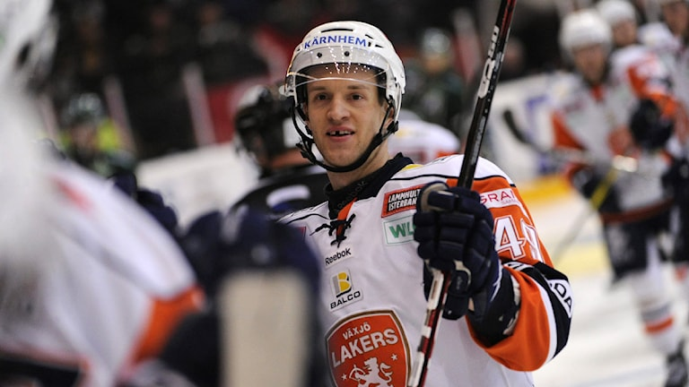 Hockeyspelaren Ilkka Heikkinen i Växjö Lakers. Foto: Erik Mårtensson/Scanpix
