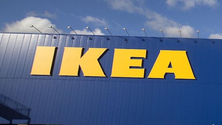 Ikea-bokstäver på en fasad. Foto: Drago Prvolovic/Scanpix