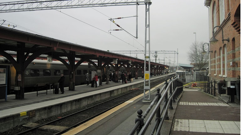 Järnvägsstationen i Alvesta. Foto: Dick Kardell/Sveriges Radio