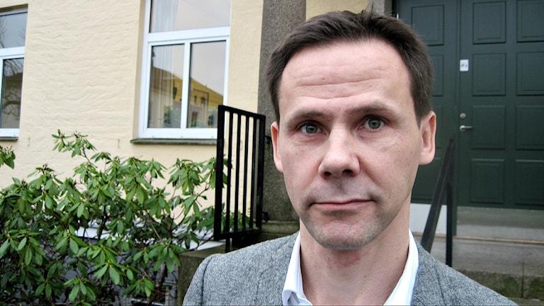 Martin Myrskog, utvecklingschef på Landstinget Kronoberg som ansvarar för granskningen av både offentliga och privata vårdcentraler i länet. Foto: Peter Bressler