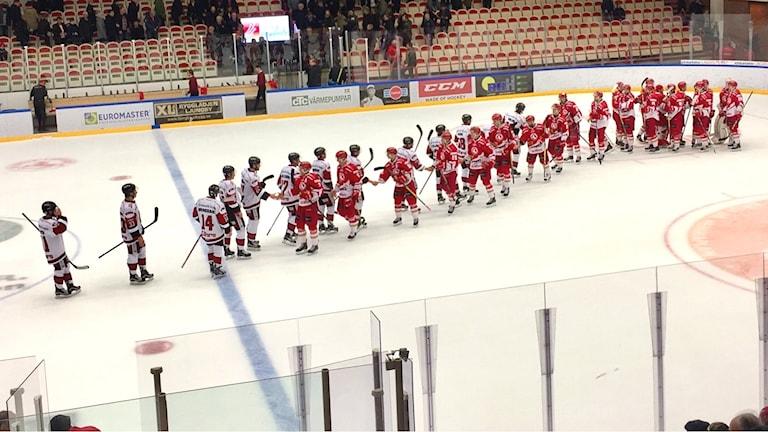 Troja/Ljungby segrade över Nybro.