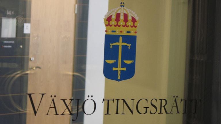 Växjö Tingsrätt. Foto Martina Svensson/Sveriges Radio