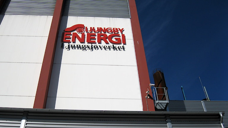 Ljungby enerig. Foto: Roger Bergvik/Sveriges Radio.