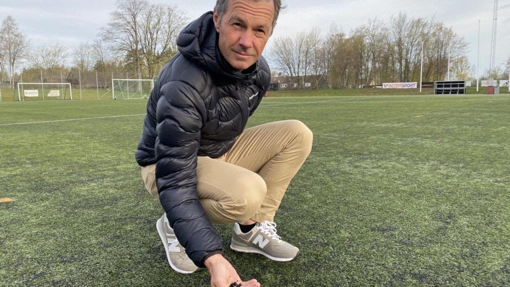 Peter Bengtsson, anläggningschef på kultur- och fritidsförvaltningen i Växjö
