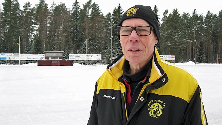 Owe Svensson, ordförande i Åby/Tjureda IF