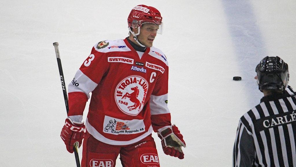 "Troja/Ljungby 2018/2019, Daniel ""Trucken"" Karlsson, depp"