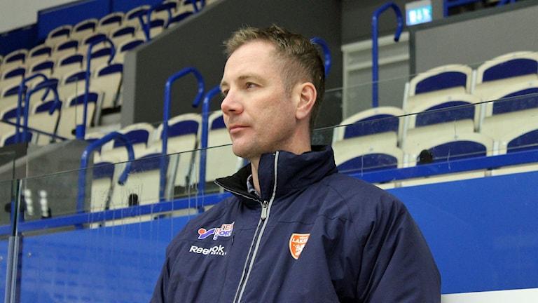 Henrik Evertsson, sportchef i Växjö Lakers.