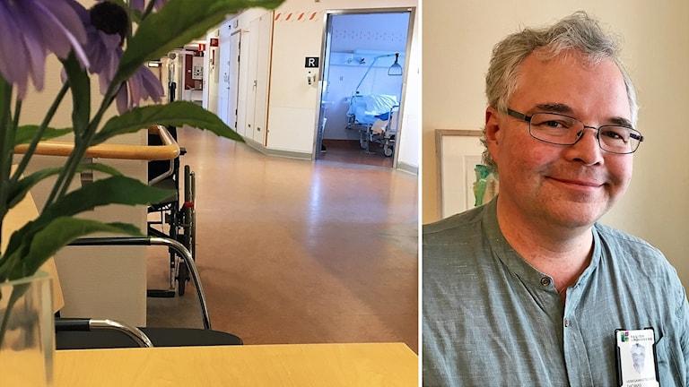 Thomas Aronsson är verksamhetschef för medicinkliniken på Växjö centrallasarett