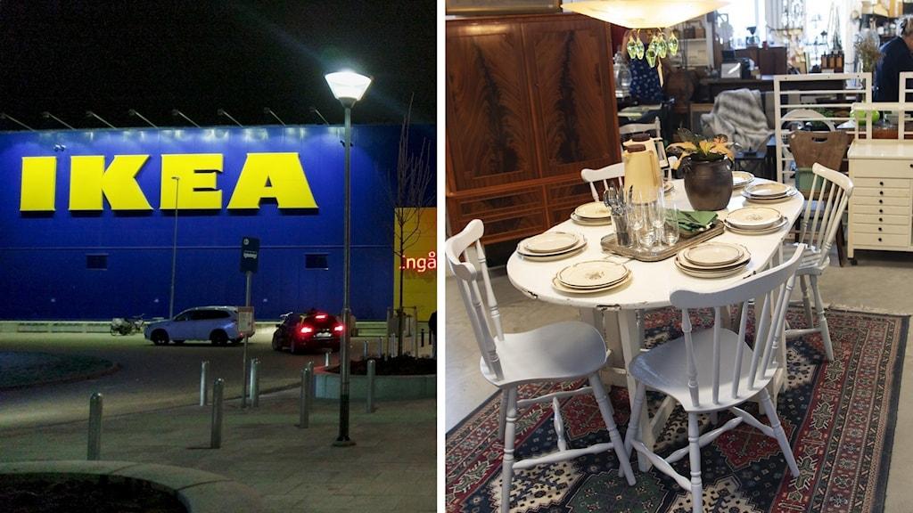 Ikea i Västerås. Retuna i Eskilstuna.