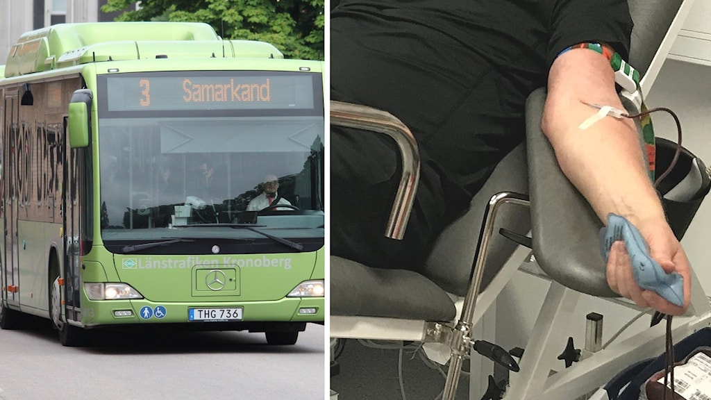 Förslag om gratis kollektivtrafik vid blodgivning