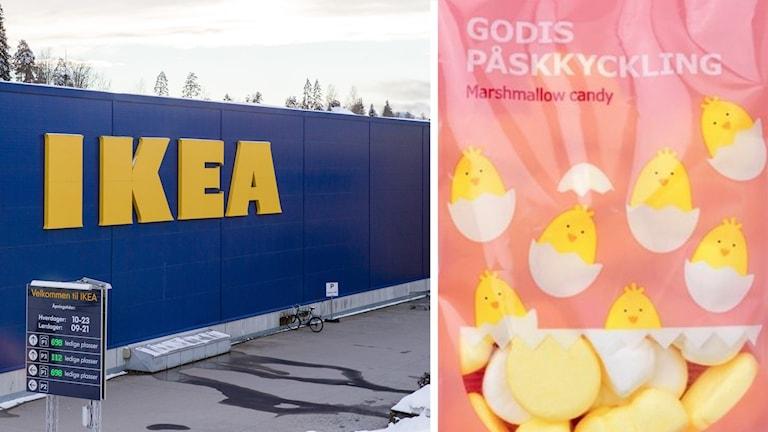 i godisfabriken gör att Ikea drar tillbaka ett gäng påsar.