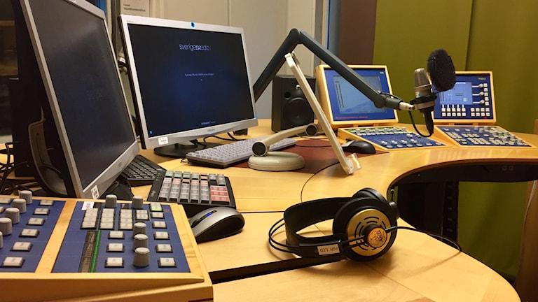 Studio på Sveriges Radio
