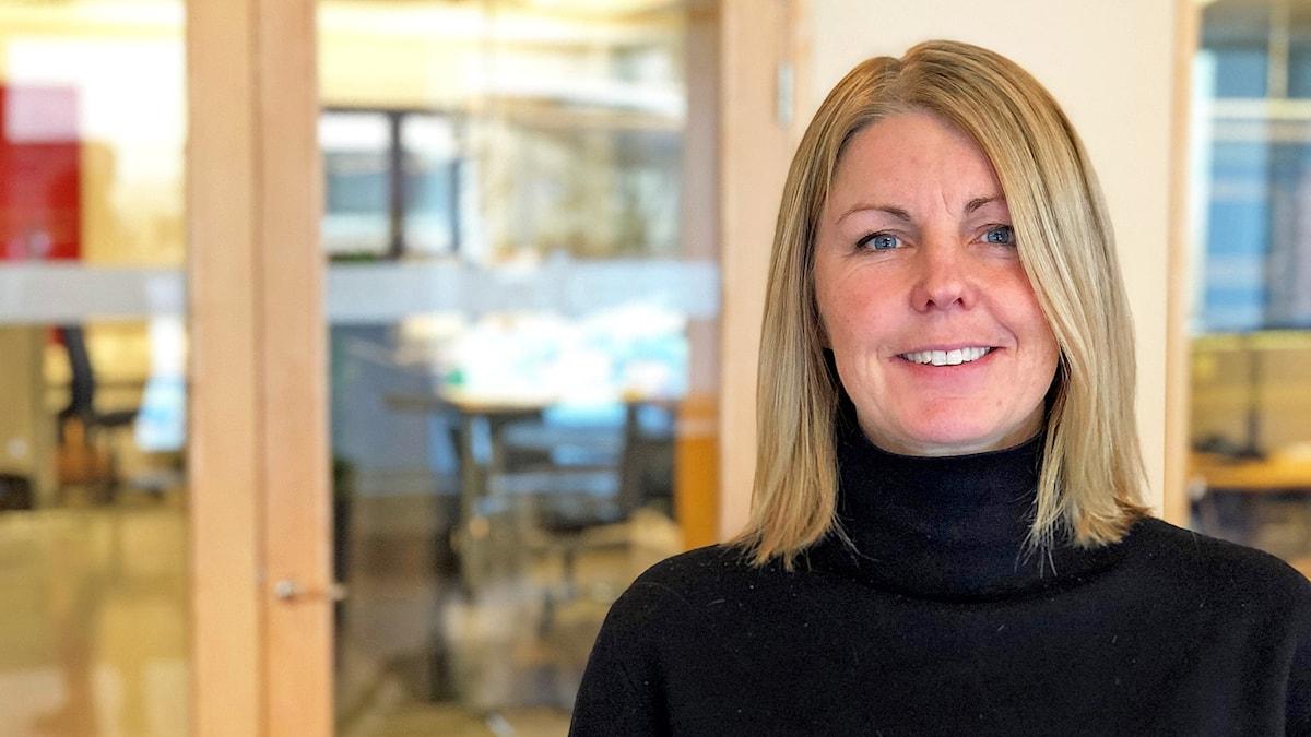 Maria Engelbrektson, kanslichefen hos myndigheten för ungdoms- och civilsamhällesfrågor, MUCF