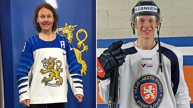 Riika Välilä och Elias Pettersson
