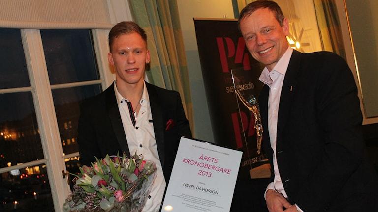 Pierre Davidsson och Christer Fuglesang.