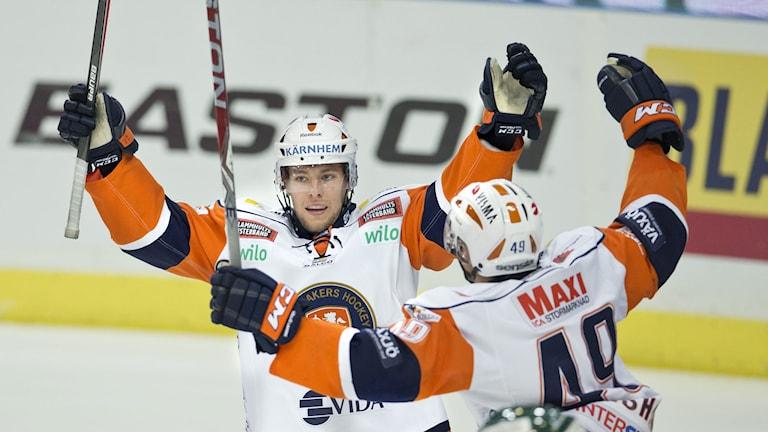 Ishockeyspelaren Robert Rosén i Växjö Lakers. Foto: Björn Larsson Rosvall/TT