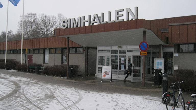 Växjö simhall. Foto: Roger Bergvik/ Sveriges Radio