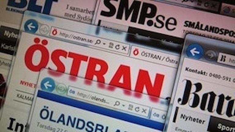 Gota Medias tidningar på webben