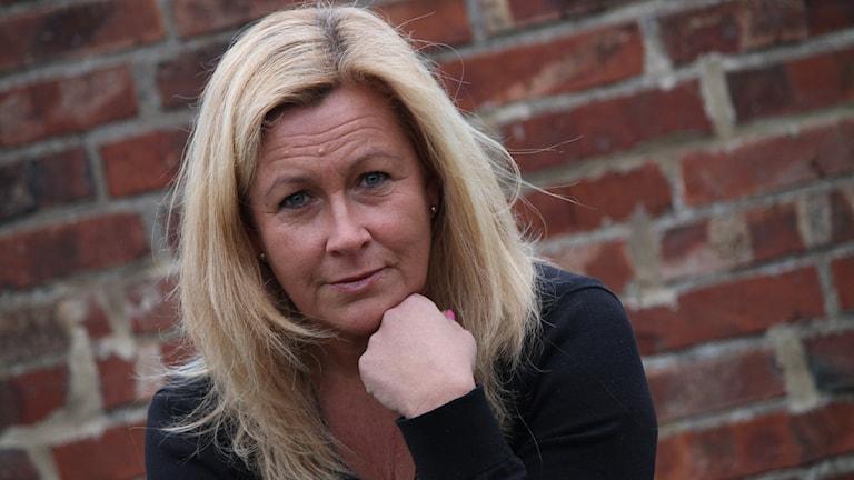 Carina Bergqvist. Foto: Emma Kvennberg/Sveriges Radio