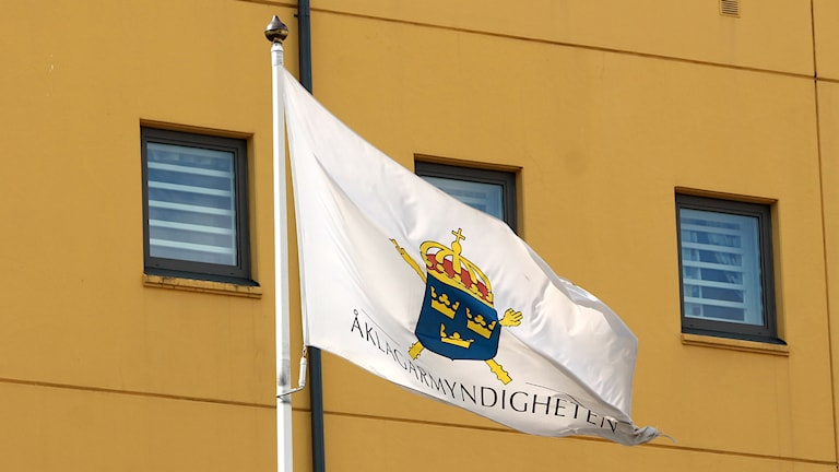 Åklagare, åklagarmyndigheten, flagga, genrebild, Växjö