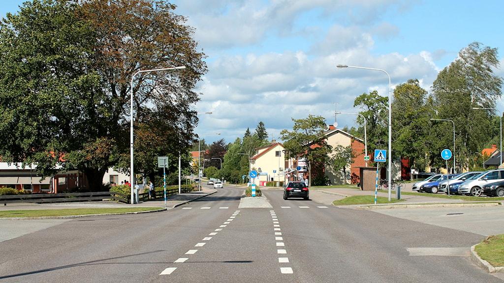 Lessebo, väg 25, miljö, stadsmiljö