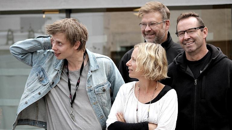 Sportmagasinet. Foto: Emma Kvennberg/Sveriges Radio