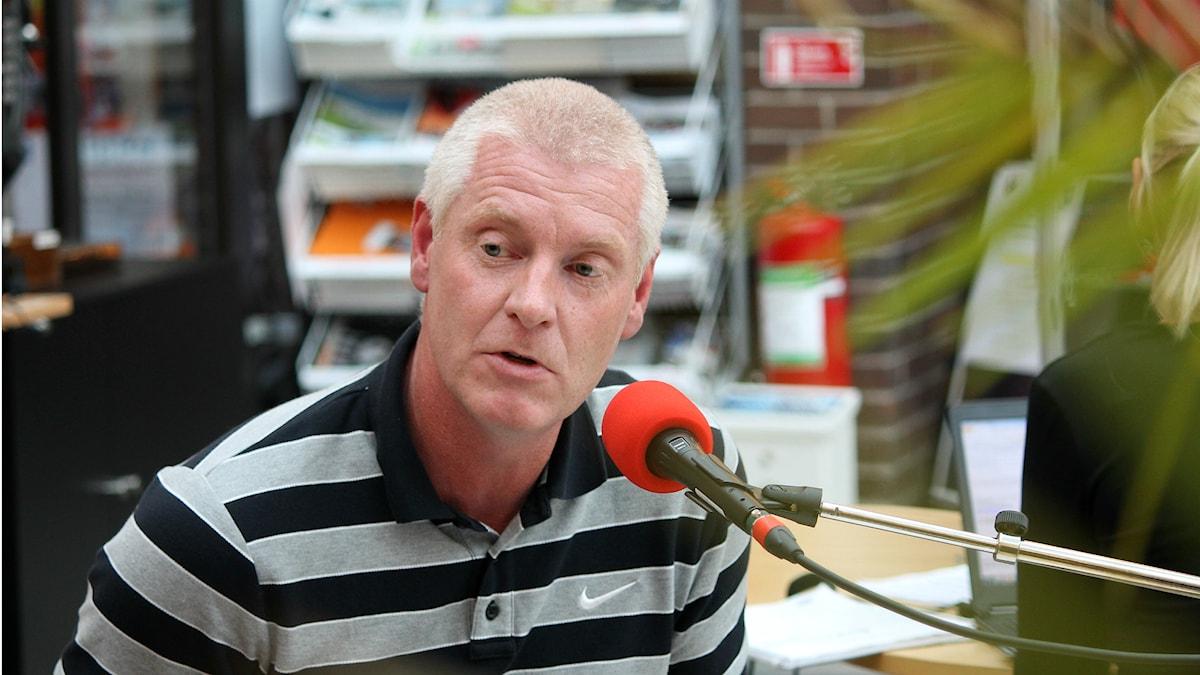 Joakim Pohlman (S) Foto: Anton Yngvesson/Sveriges Radio