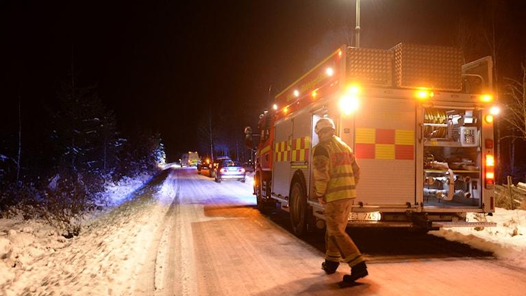 mopedolycka i Ingelstad.