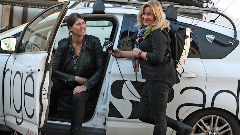 Erica Högberg och Carina Bergqvist