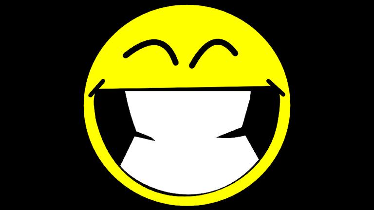 Ett stort leende! Foto: Wikimedia Commons