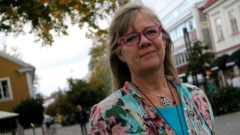 Tina Nevin, sexolog vid Landstinget Kronoberg. Foto: Emma Kvennberg/Sveriges Radio
