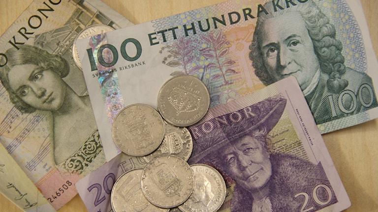 Pengarna räckte inte till alla löften. Foto: Sveriges Radio