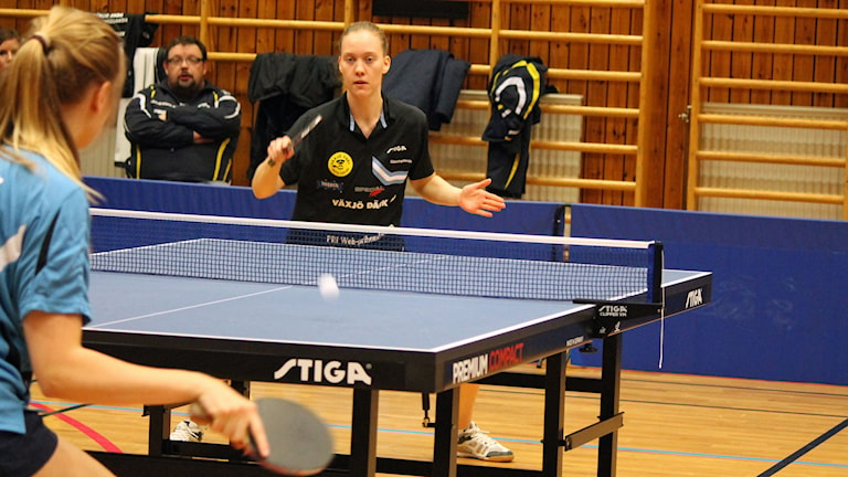 Lisa Rydén i Dänningelanda BTK. Foto: Anna Tigerström/Sveriges Radio
