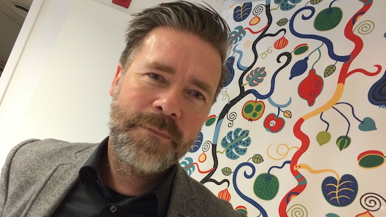 Sven Johannesson, ordförande för Östers IF. Foto: Lena Gustavsson/Sveriges Radio