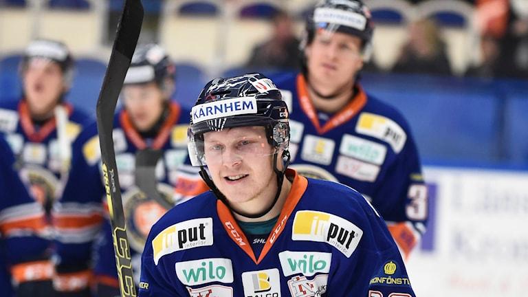 Toumas Kiiskinen i Växjö Lakers. Foto: Mikael Fritzon/TT