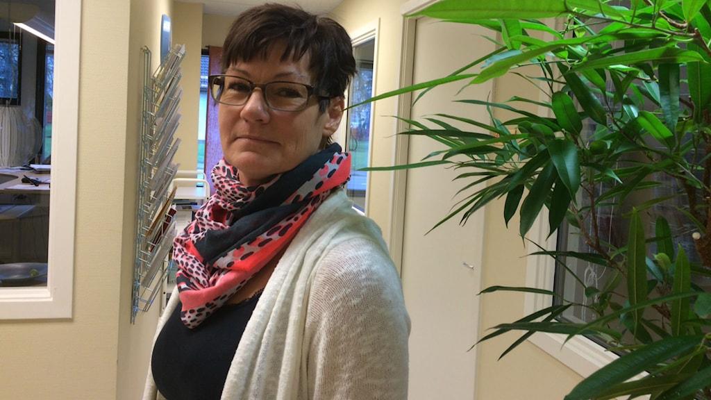 Susanne Winsth, socialchef i Uppvidinge. Foto: Lena Gustavsson/Sveriges Radio
