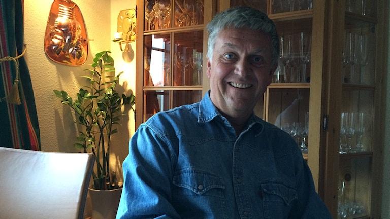 Smittskyddsläkare Arne Runehagen är hemma igen. Foto: Petra Ekelöf/ Sverigesradio