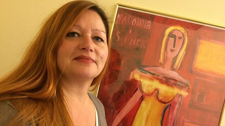 Anna Wilsson, vårdutvecklare på kvinnokliniken.