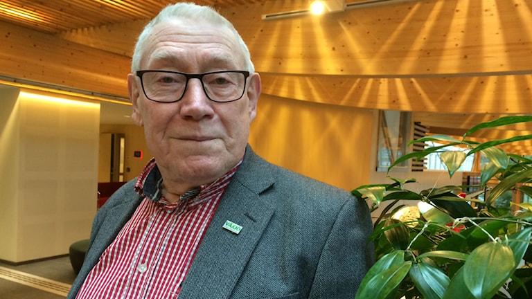 Benny Johansson (M), ordförande i Nämnden för arbete och välfärd i Växjö. Foto: Lena Gustavsson/Sveriges Radio