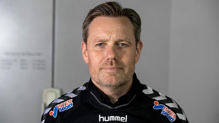 Fotbollstränaren Thomas Askebrand, Foto: Pontus Lundahl/TT