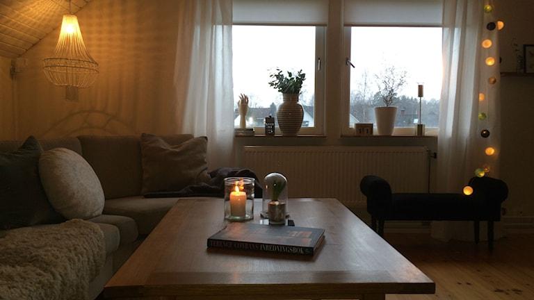 Rummet är klart! Foto: Carina Bergqvist/Sveriges Radio