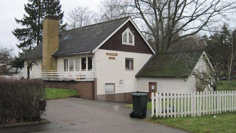 Härbärget Vinternatt har inte öppet i de här lokalerna längre. Foto: Sveriges Radio