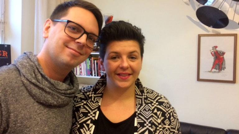 Andreas Dahl och Susanna Mosevic