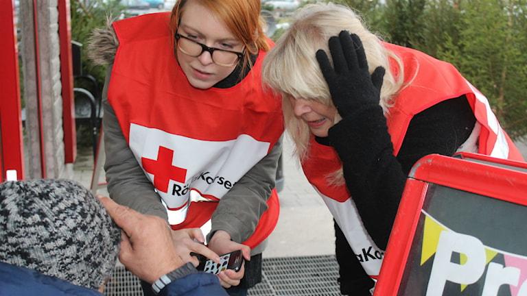 Jenny Ferm och Ingmarie Härsing