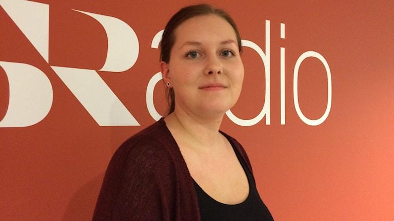 Fanny Bourelius. Foto: Petra Ekelöf/Sveriges Radio